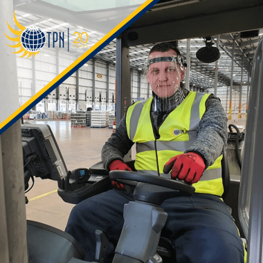TPN protects drivers and Hub teams with reusable face visors from NHS supplier